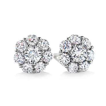 Hearts On Fire Diamond Earrings