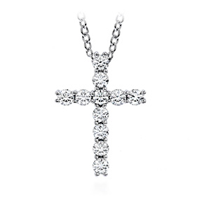 Whimsical Cross Pendant Necklace